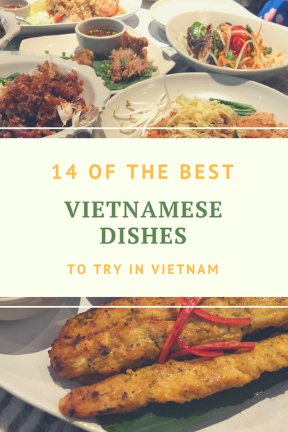 best Vietnamese dishes to try in Vietnam