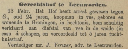 Provinciale Drentsche en Asser courant 16-02-1886