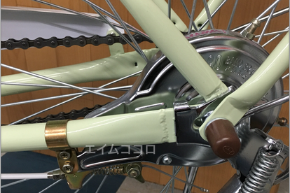 自転車のバンドブレーキ