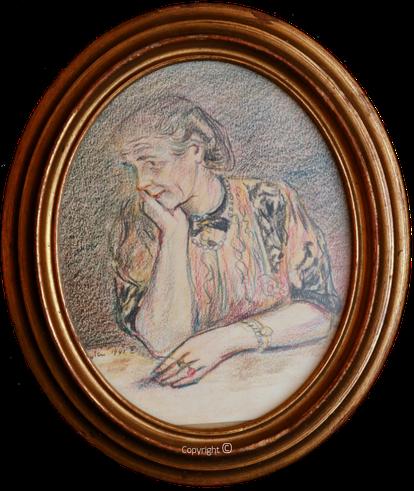 Erwin Bowien (1899-1972) – Erna Heinen-Steinhoff als Sinnende, 1941