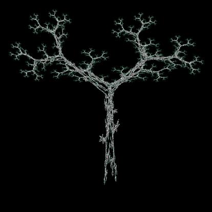 IFS Fraktal - Baum