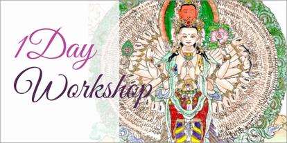 仏画体験・東京品川で仏画教室のご案内。