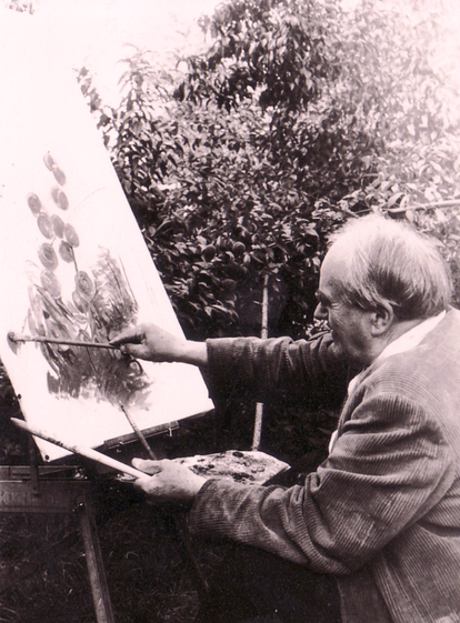 Erwin Bowien, Weil am Rhein, 1971