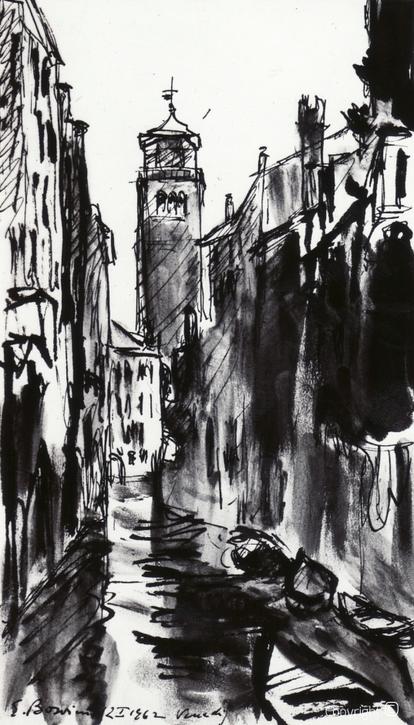 Erwin Bowien (1899-1972): Venedig, 1962