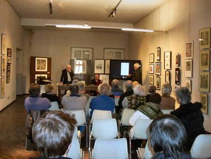 Conferenza sulle Tecniche Grafiche tenutasi il 27 marzo 2015 al Castello di Casale Monferrato. Relatori: Antonio Barbato, Pio Carlo Barola, Gianpaolo Cavalli.