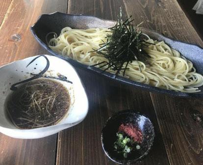 Dining 麒麟さん(田川市) パスタDEつけ麺