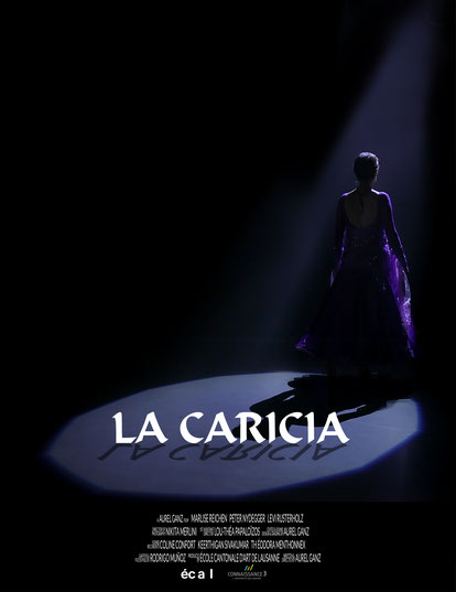 short film poster of La Caricia directed by Aurel Ganz