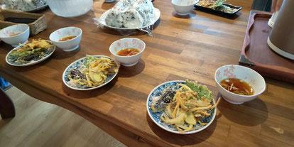 女川夢ハウスの昼食