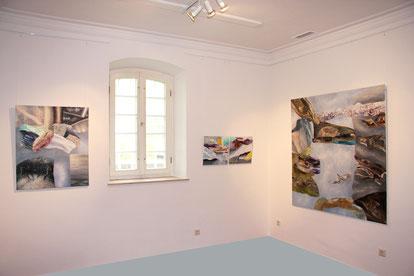 Galerie-, Museums-, Kunstverein-Ausstellungen, Utopie, Dystopie, Apokalypse, Energie, Natur, Farbverläufe, Fracking