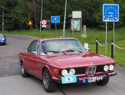 Überqueren der Grenze nach Polen