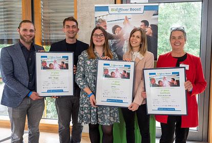 Sieger beim Wettbewerb BioRiver Boost! 2021