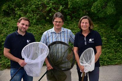 Unsere Arbeitsgruppe Insekten (c) Hans Schönecker