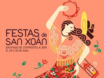 Fiestas en Santiago Festas de San Xoan