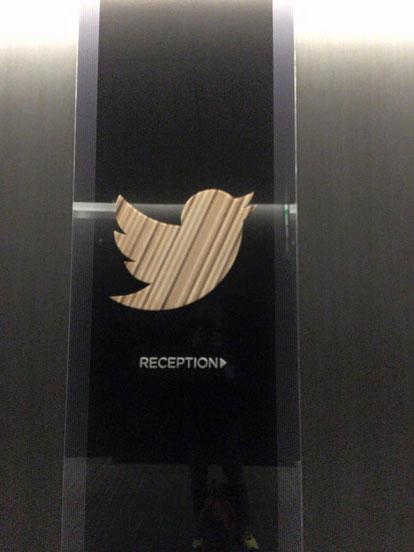 Twitter本社入り口