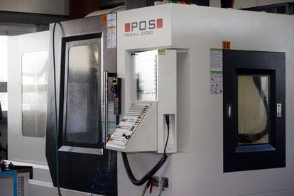 POSmil C 1050 mit Heidenhain CNC Steuereinheit