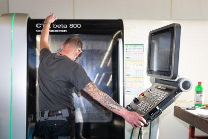 DMG CTX beta 800  mit DMG ERGOline Steuereinheit