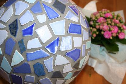Mosaikkugel Durchmesser  ca. 22 cm