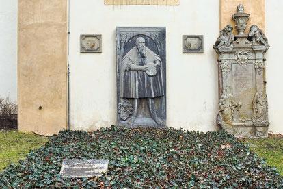 Grab von Lucas Cranach in Weimar