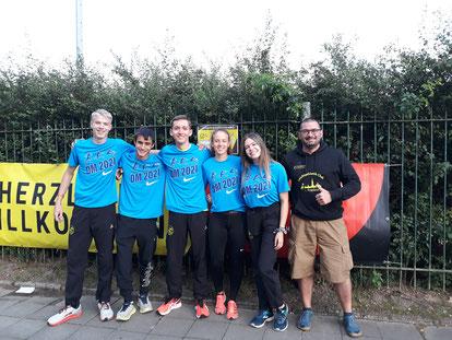 Das erfolgreiche LAC-Team mit Coach Johannes - Foto: privat