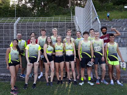 Das erfolgreiche LAC-Team mit den Coaches Cleverton und Johannes - Foto: privat