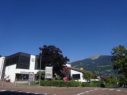 Bild vom Gebäude in dem sich der Tourismusverein befindet