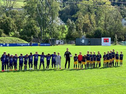 Unsere U12 Mannschaft zeigte gegen den SV Gaissau eine tolle Leistung, verlor aber dennoch mit 2:7