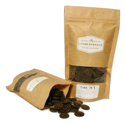 pépites - chocolat - pastilles - Corné Dynastie - Chocolat Cuba