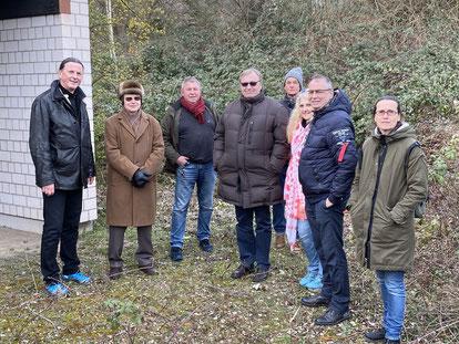 Teilnehmer am Stadtsparziergang der Bürgerliste in Miltenberg Nord
