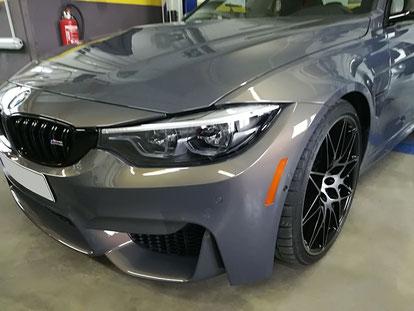 Lackspiegelungen BMW M3