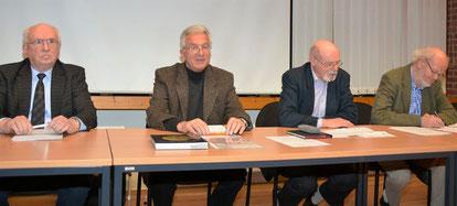Alter und neuer Vorstand Stiftung Krinkberg