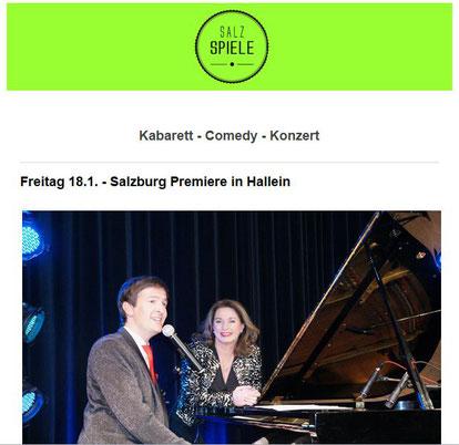 SalzSpiele - Kabarett, Comedy, Konzert