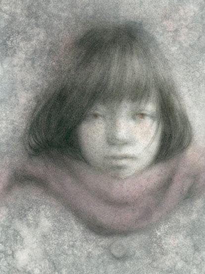 「dessin」 B4 パステル等ミクストメディア/紙