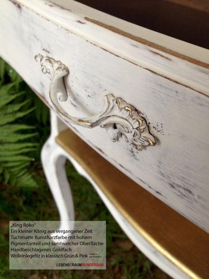King Roko - Einzelstück farbig veredelte Möbel in Handarbeit - Raumgestaltung Wunderbar Zürich