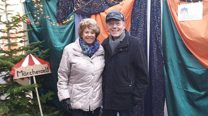 Frau Dyllong und Herr Dosch; Freunde d. Gemeindebücherei