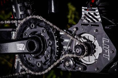 KIT motor juego de bielas LIFT-MTB V3 MTB
