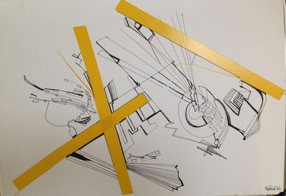 """""""Composition with yellow"""" (2013)"""