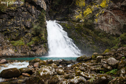 Reinbachfälle im Ahrntal in Südtirol Italien