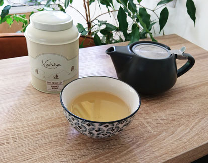 ©Asthéya, thé blanc désaltérant Romance à Venise