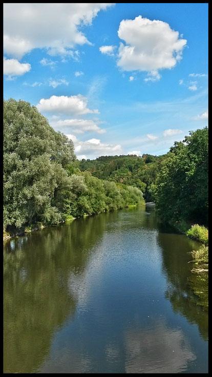 Natur pur an der Sieg-ein Genuss für Wanderer und Kanuten