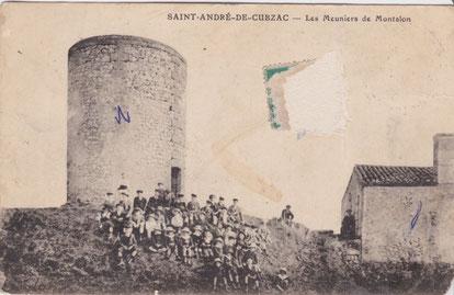 Les moulins de Montalon à Saint-André-de-Cubzac