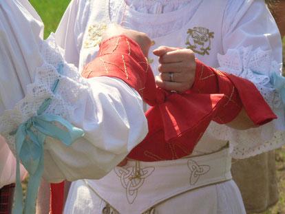 Unser Handfasting am 03.05.2008 - Beltane