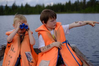 Mio und Lasse entdecken den See