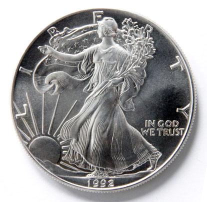 1 Unze Silber USA Silver Eagle