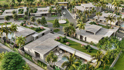 MIRARI VILLAS CONTEMPORAINES GRAND BAIE ILE MAURICE