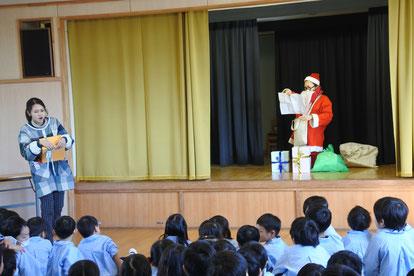 サンタさん、日本にやってくるみたい!!