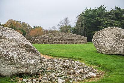 Die Megalithen von Locmariaquer.