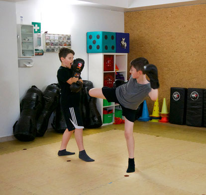 Kickboxen in der TOWASAN Karate und Kickbox Schule in Muenchen