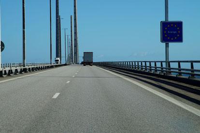 Auf dem Weg nach Schweden, Foto: Ulf F. Baumann