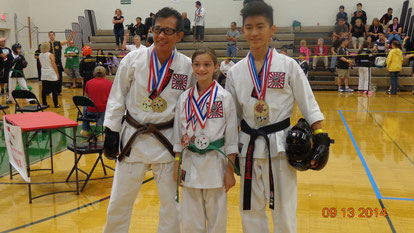 Jes, Abby, Brandon - UMARA Tournament 2014