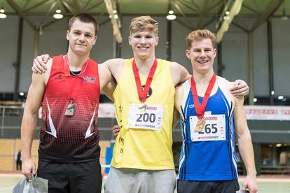 Finley Gaio (Nr. 200), Birk Kähli (Nr. 265) / Foto: Swiss Athletics